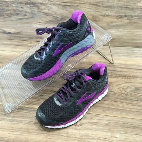764f7bd09dcee Brooks Shoes - Brooks Ariel 16 Running Shoes Black Purple New